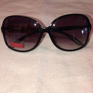 Jennifer Lopez large black sunglasses NEW